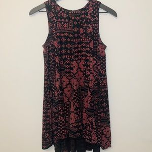 Ecote Urban Outfitters Printed Dress